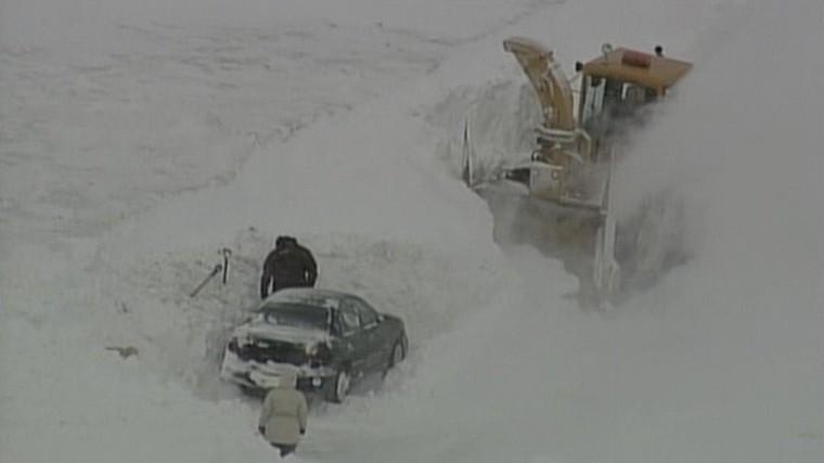 Un rappel du blizzard de mars 2008?
