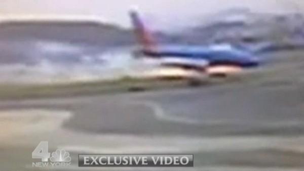 Problème d'atterrissage à l'aéroport de La Guardia à New York: 10 blessés