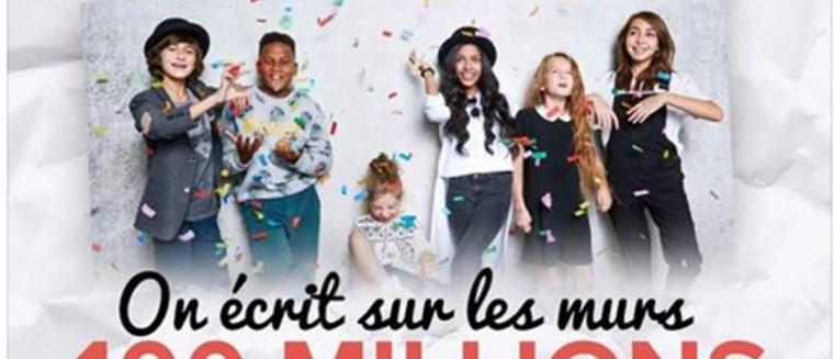 Kids United : le clip d'On n'écrit sur les murs dépasse les 100 millions de vues (VIDEO)