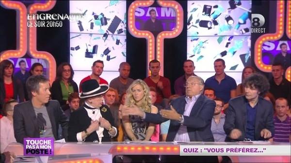 Clash entre Geneviève de Fontenay et Gérard Louvin - 10/01/2013