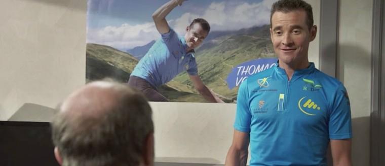 Plus belle la vie : Léo rencontre son idole Thomas Voeckler (VIDEO) - toutes les actualités avec Télé-Loisirs