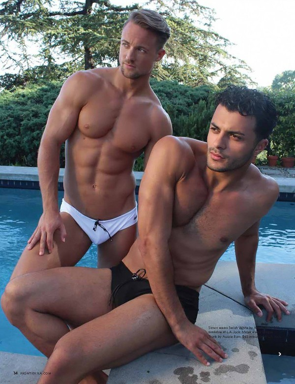 Frontiers Magazine : Swimsuit Issue | MensUnderwearWorld.com