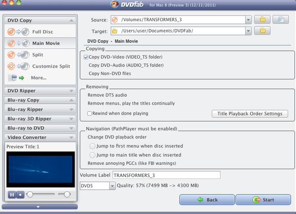 How-to - Quickly backup DVD on Mac with DVDFab DVD Copy for Mac