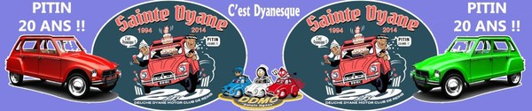 Deuch Dyane Motor Club de REIMS - Portail