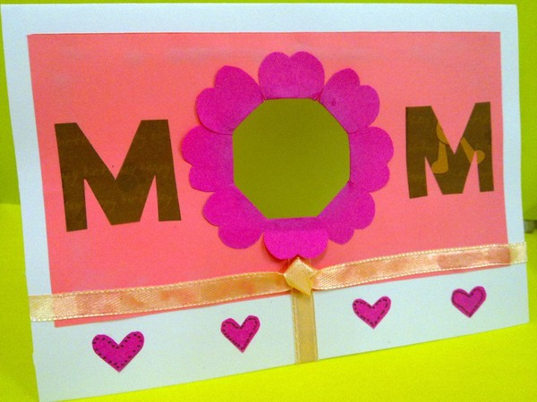 Peek-A-Boo! SUPER Mother's Day Card