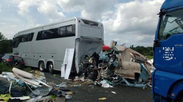 Une famille flamande dans un accident mortel en Allemagne