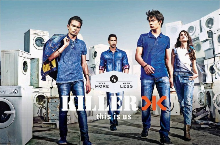 "Making off de la campagne 2014 pour Killer Jeans : ""This is us"" - Last night in Orient"