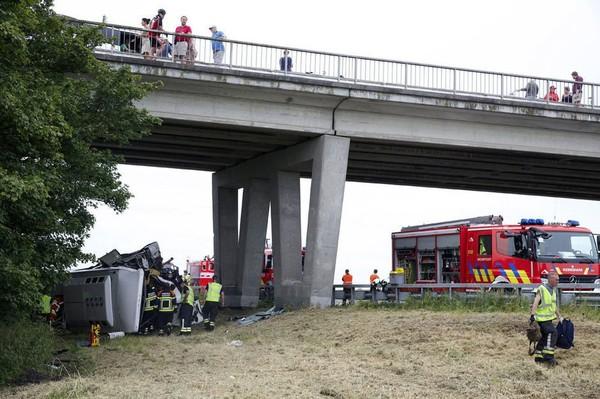 Un mort dans un accident de bus transportant des enfants