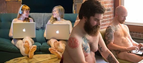Naked Fridays : ils se déshabillent au travail pour renforcer l'esprit d'équipe