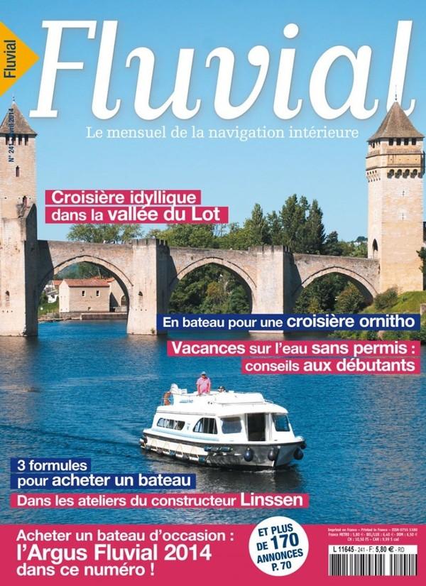 Revue Fluvial Vient de paraître Fluvial 241 - Le numéro d'avril est en kiosque