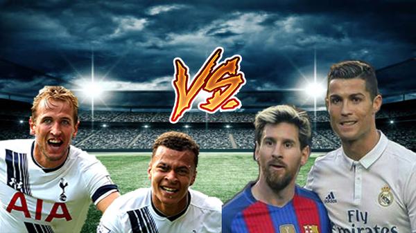 Ternyata Alli dan Kane Lebih Berharga Dari Messi dan Ronaldo