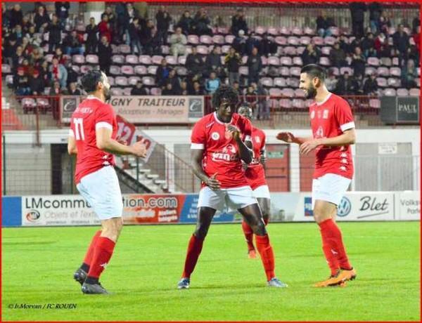 FCR - FC Rouen - Fauville : 6-1