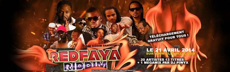 RED FAYA RIDDIM - Mano Selecta