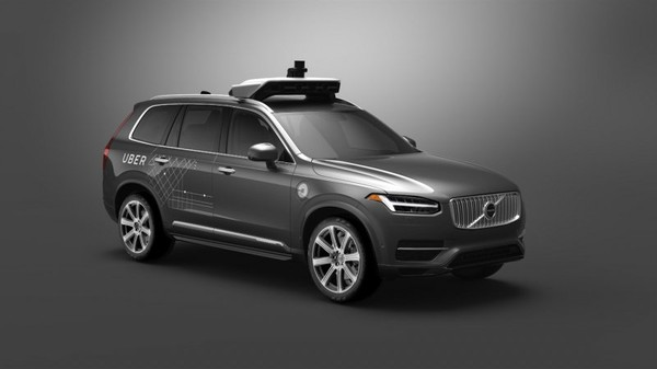 Volvo and Uber partner to develop autonomous driving technology