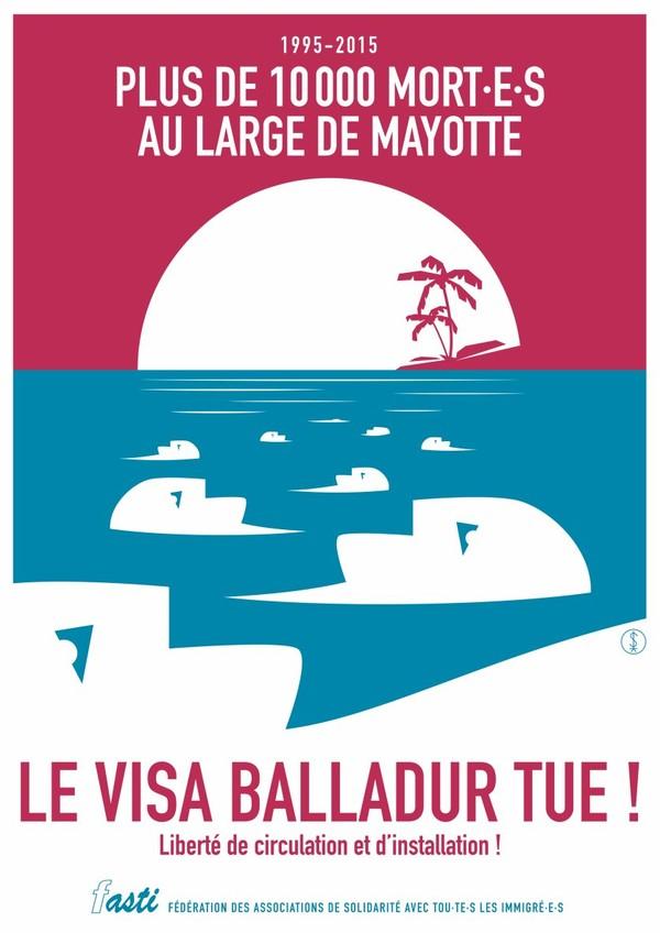 Le « visa Balladur » tue. Abolissons-le !