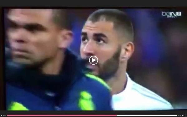 Karim Benzema en larmes à l'issu de la Marseillaise de Real vs Barça. Une belle leçon de patriotisme. Son crachat sous l'émotion est très mal interprété, dommage ! - Le blog de Ama...