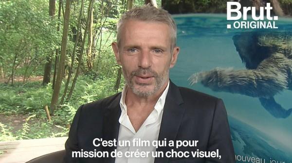 """VIDEO. Environnement : pour Lambert Wilson, """"l'homme doit arrêter de penser qu'il est le centre du monde"""""""