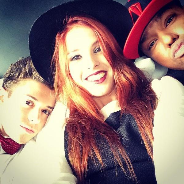"Cande Molfese on Instagram: ""Con mis novios ! @ruggeropasquarelli @samuknascimento"""