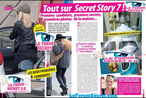 SCAN OOPS / Premiers candidats, premiers secrets, premières photos de la Maison... Tout sur Secret Story 7 !