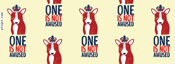 One is not amused Facebook Covers