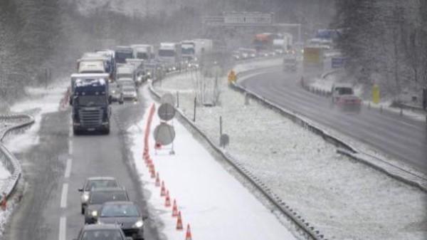 27-01-2013 - France - cinq blessés légers dans l'accident d'un car ...
