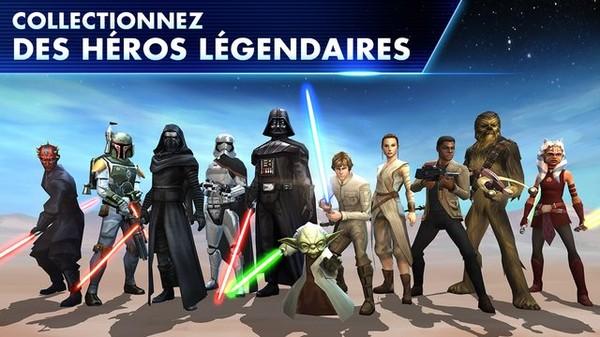 Consultez et comparez les avis et notes d'autres utilisateurs, visualisez des captures d'écran et découvrez Star Wars™: Les héros de la Galaxie plus en détail. Téléchargez Star Wars™:...