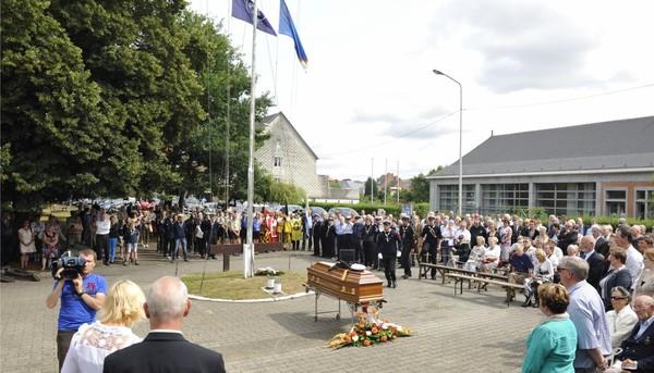 Namur: un ultime hommage rendu à Roger Pierard