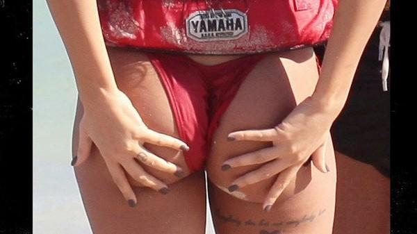 French Reality Star: Check Out My Beach Thong! -- Nabilla Benattia