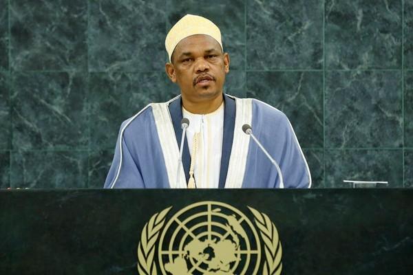 Centre d'actualités de l'ONU - Le Président des Comores se félicite du nouvel élan pris par les relations entre son pays et la France