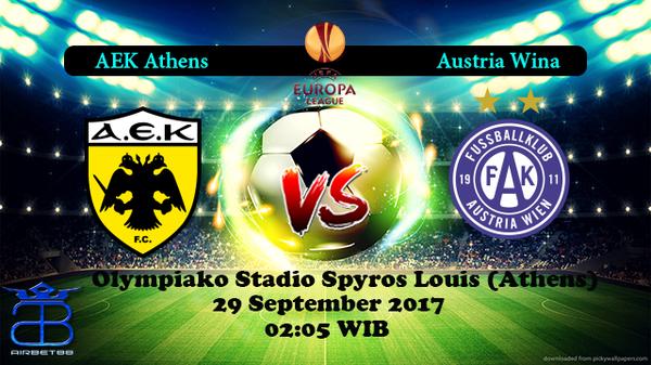 Prediksi Aek Athens VS Austria 29 September 2017