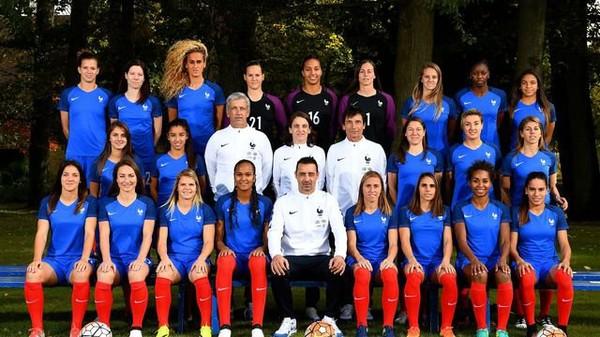 FCR - Bonne chance à l'équipe de France Féminine !