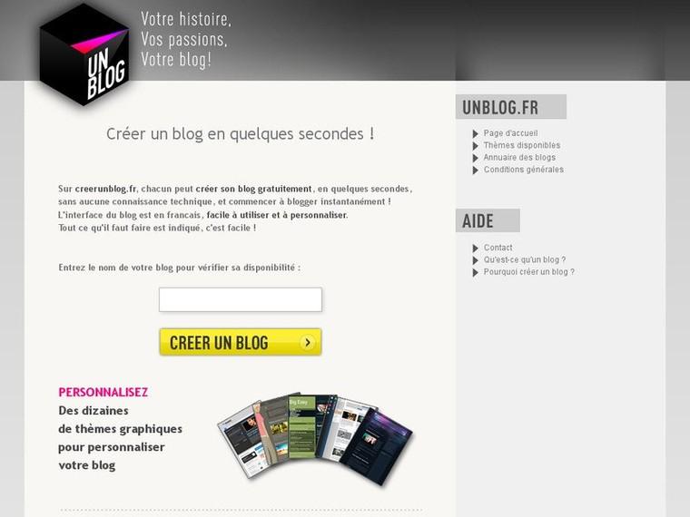 Créer un blog - un blog gratuit.. Unblog.fr | Mag90Recherche