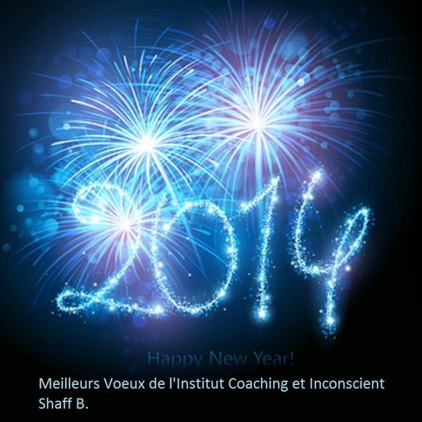 L'Institut Coaching et Inconscient Vous souhaite une merveilleuse année 2014 - ICI Institut coaching et inconscient