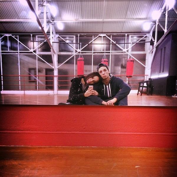 .@alizeeofficiel | Dernier entrainement dans les studios de #dals ... #triste #onveutpaspartir #... | Webstagram