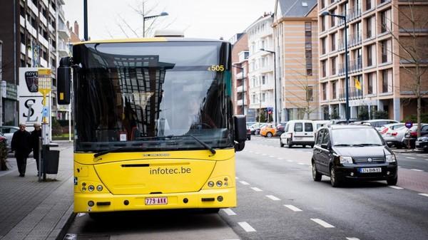 La réimmatriculation des bus TEC coûtera 100.000 euros