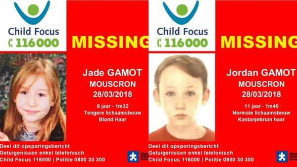 Mouscron | Child Focus lance un avis de disparition pour deux enfants mouscronnois