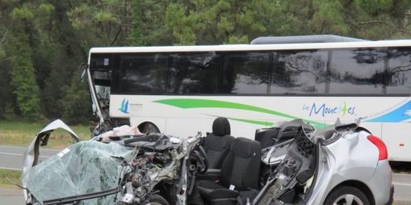 Île de Ré (17) : une violente collision fait trois blessés dont un grave - SudOuest.fr