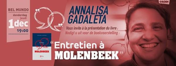Présentation du livre dAnnalisa Gadaleta:Entretien à Molenbeek