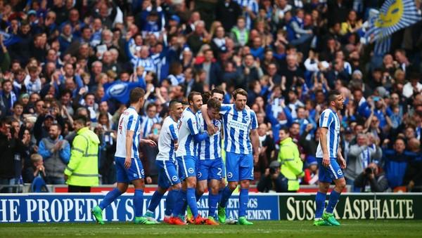 Liga Inggris pekan 22 mempertemukan Brighton Hove Albion melawan Bournemouth