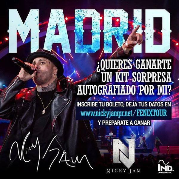 MIAMI NEWS 106: FENIX TOUR EUROPA 2016 MESAJE POR MADRID