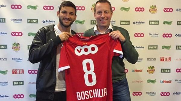Officiel: Boschilia est un joueur du Standard