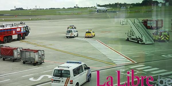 """Atterrissage d'urgence à Brussels Airport: """"Pas de défaut à l'appareil"""""""