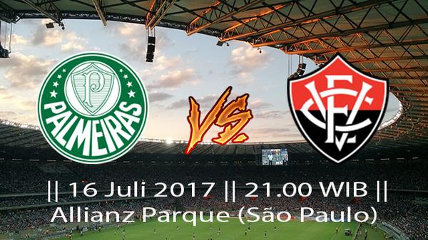 Prediksi Palmeiras vs Vitoria 16 July 2017 Liga Brasil