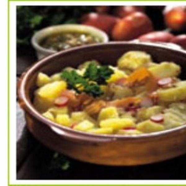 Salade de pommes de terre à l'échalote