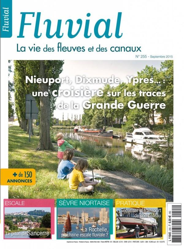 Revue Fluvial Vient de paraitre Fluvial 255 - Le numéro de la rentrée est en kiosque