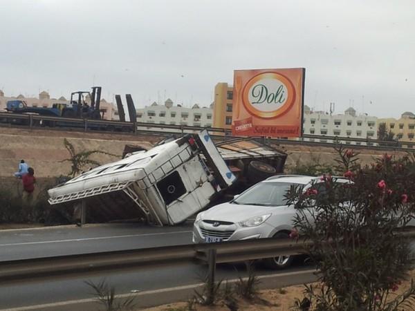 Accident sur l'autoroute : 30 blessés, 11 dans un état grave