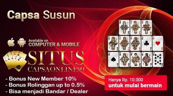 Situs Capsa Online Terbaik di Indonesia