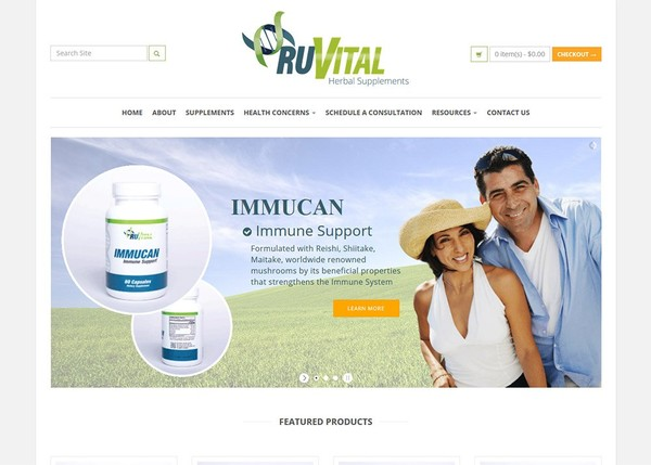 RUVITAL SUPPLEMENTS - RuVital Herbal Supplements