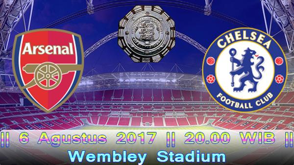 Prediksi Arsenal vs Chelsea 6 Agustus 2017 Community shield