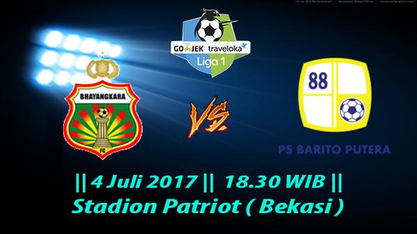 Prediksi Bhayangkara vs Barito Putera 4 Juli 2017 Liga 1 Gojek Indonesia